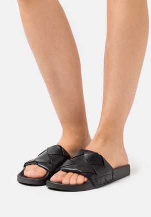 DORIAA - Pantofle - black