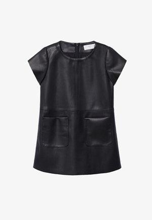 FISOB - Robe d'été - noir
