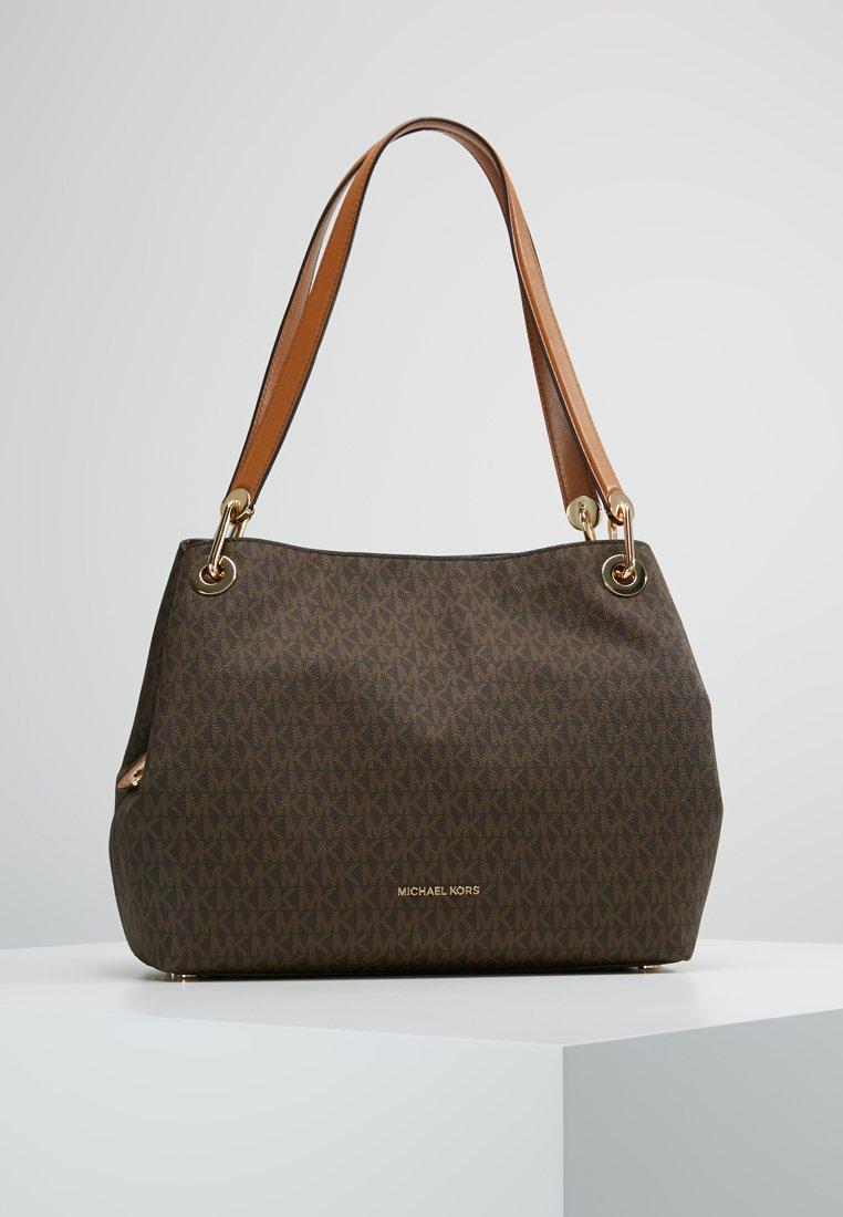 MICHAEL Michael Kors - RAVEN SHOULDER BAG - Handbag - brown