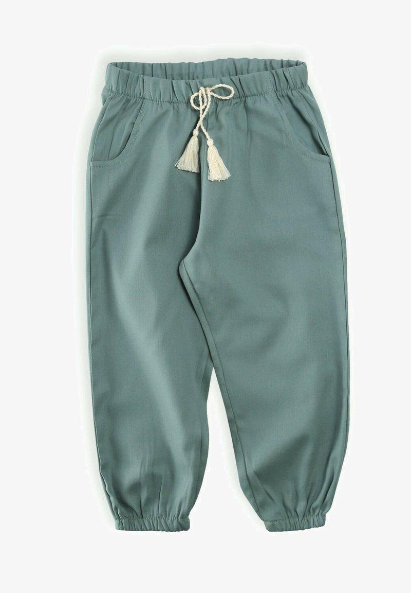 Cigit - PANT - Tracksuit bottoms - metallic green