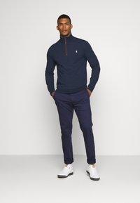 Polo Ralph Lauren Golf - LONG SLEEVE - Sweatshirt - medieval blue heather - 1