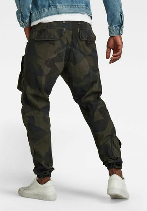 3D STRAIGHT TAPERED CARGO - Cargo trousers - multi coloured