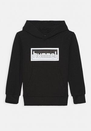 MONO HOODIE UNISEX - Hoodie - black