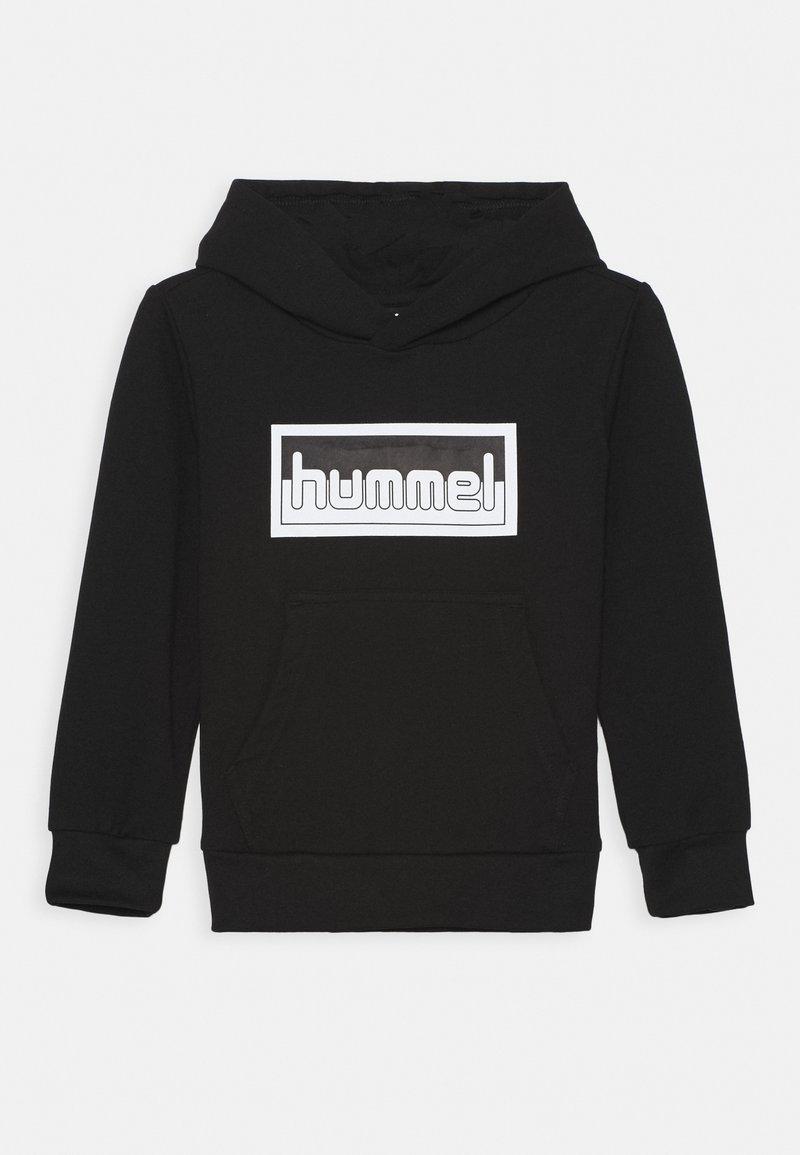Hummel - MONO HOODIE UNISEX - Hoodie - black