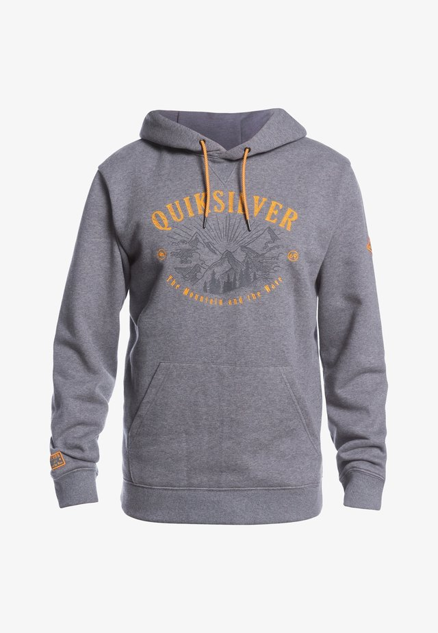 Sweat à capuche - heather grey