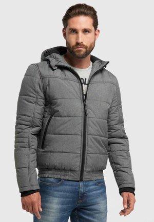 Winter jacket - light slate melee