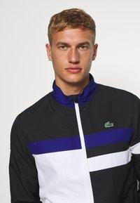 Lacoste Sport - SET - Dres - black/white/cosmic - 5