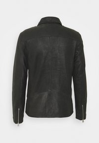 Lindbergh - BIKER JACKET - Leather jacket - black - 10