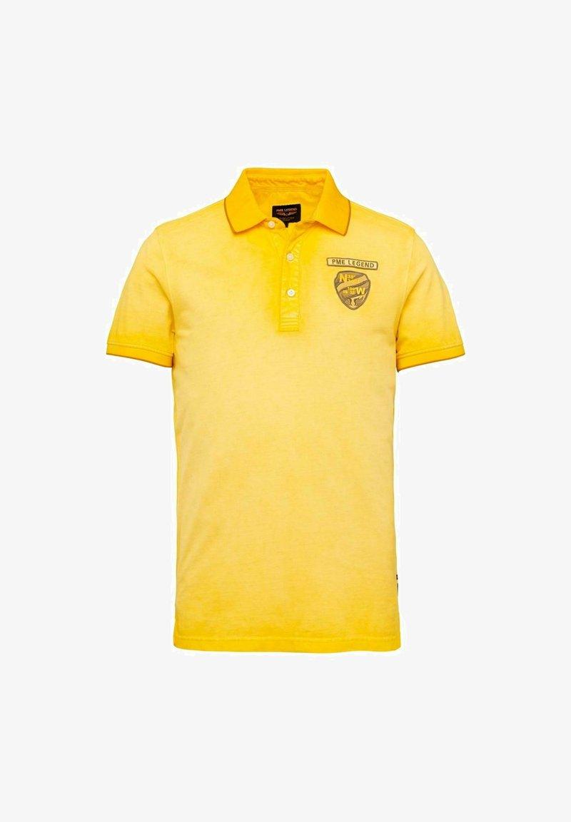 PME Legend - SHORT SLEEVE PIQUE COLD - Polo shirt - yellow