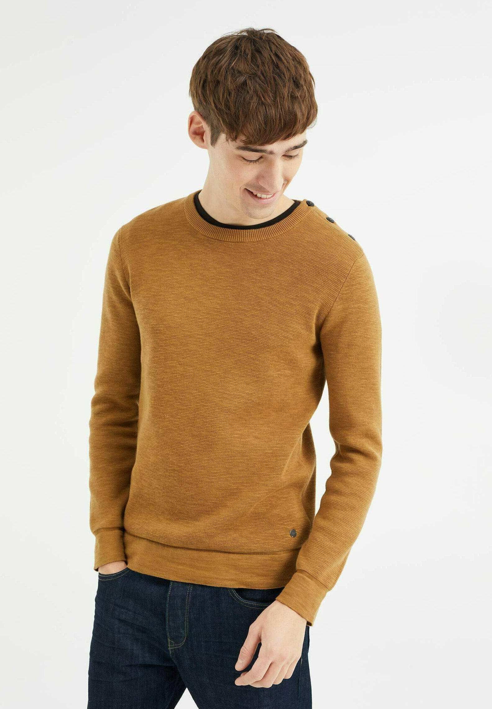 Homme MET KNOPEN - Pullover
