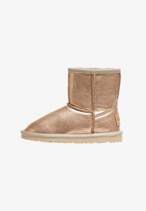METAL - Korte laarzen - golden