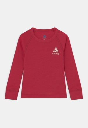 CREW NECK ACTIVE WARM ECO UNISEX - Unterhemd/-shirt - deep claret