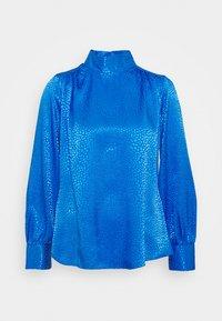 Closet - CLOSET HIGH NECK BLOUSE - Blouse - cobalt - 0