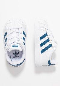adidas Originals - SUPERSTAR - Trainers - footwear white/legend marine - 0