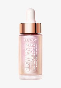 L'Oréal Paris - GLOW MON AMOUR HIGHLIGHTING DROPS - Rozświetlacz - 05 icoconic glow - 0