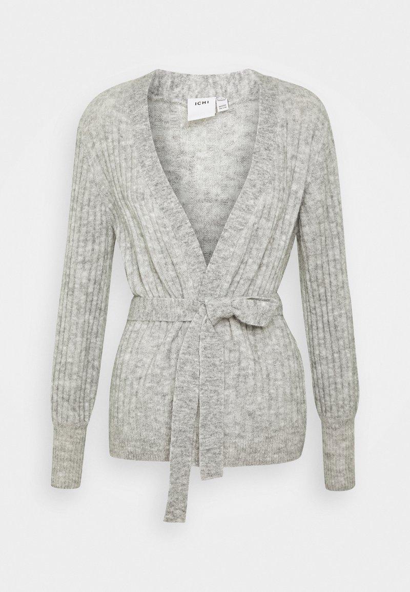 ICHI - AMARA  - Cardigan - light grey