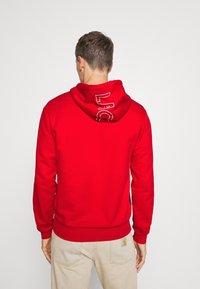 Lacoste - Sweatshirt - red/viennese/navy blue - 2
