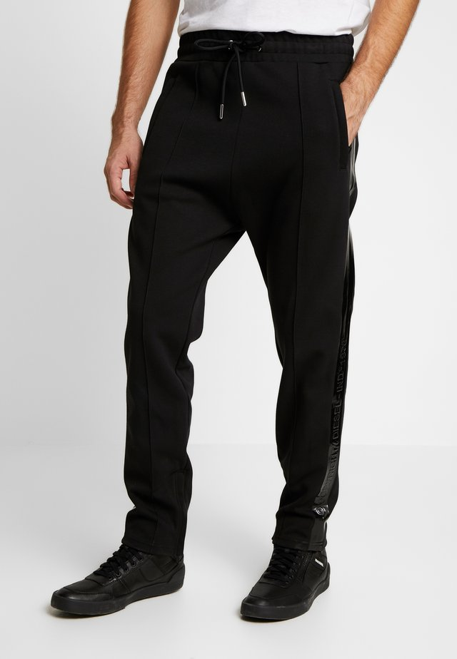 RUSY TROUSERS - Tracksuit bottoms - black