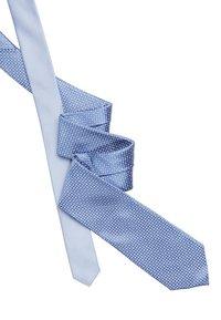 Tommy Hilfiger - MICRO DESIGN TIE - Tie - blue - 2