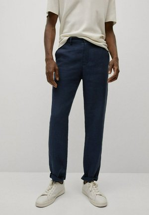 Kalhoty - dunkles marineblau