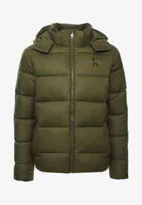 Calvin Klein Jeans - MONOGRAM PADDED JACKET - Winter jacket - grape leaf - 3