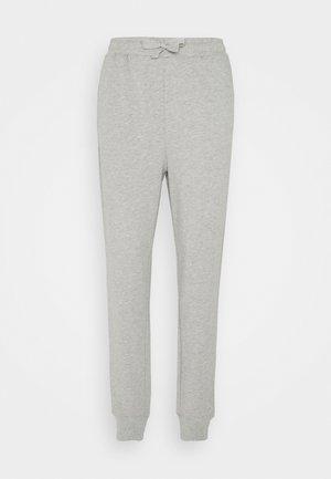 ANNE PANTS - Tracksuit bottoms - grey melange