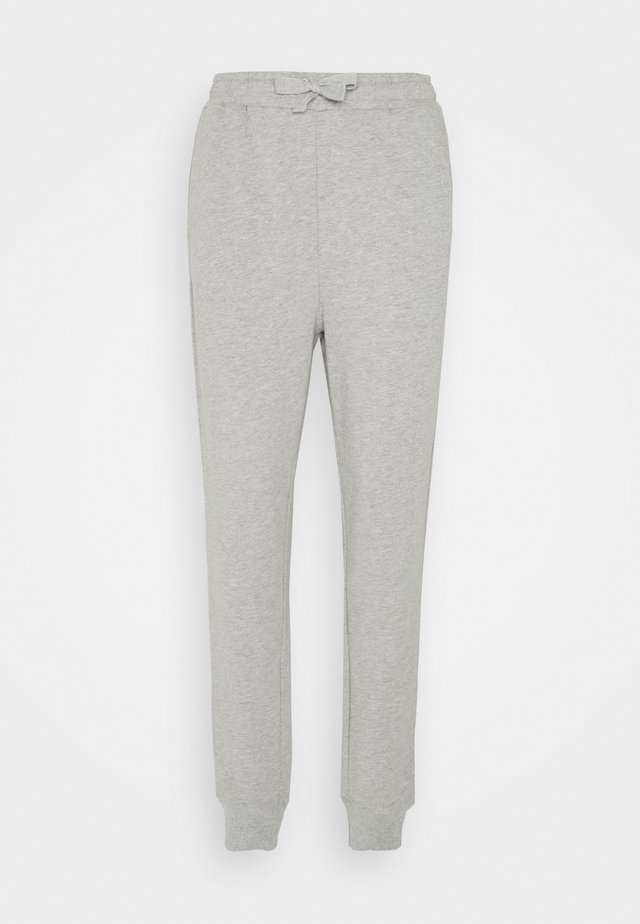 ANNE PANTS - Pantalones deportivos - grey melange