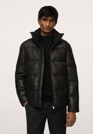 ANORAK - Down jacket - black
