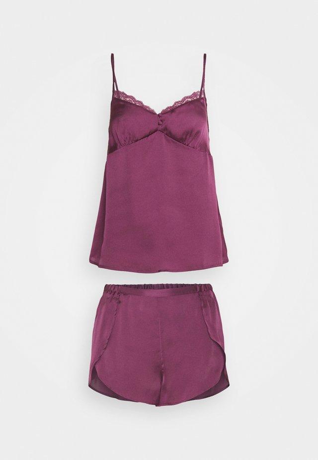 SHORT SET - Pyžamo - lilacs