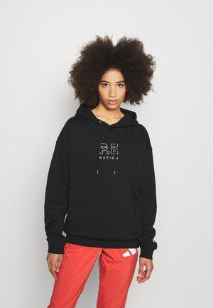 ENDURANCE HOODIE - Sweatshirt - black