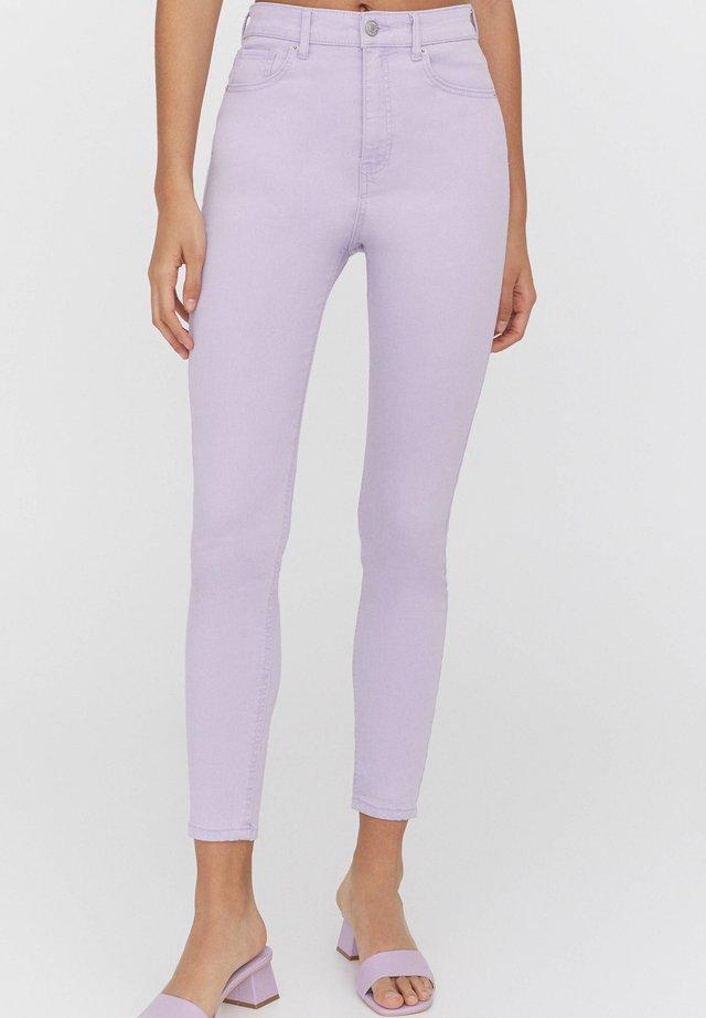 Skinny džíny - dark purple