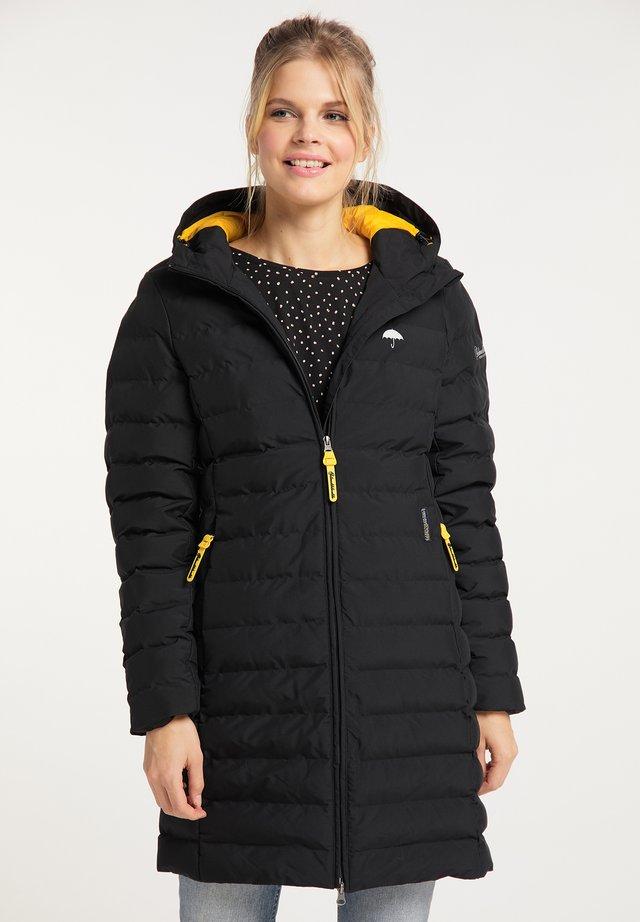 Wintermantel - schwarz