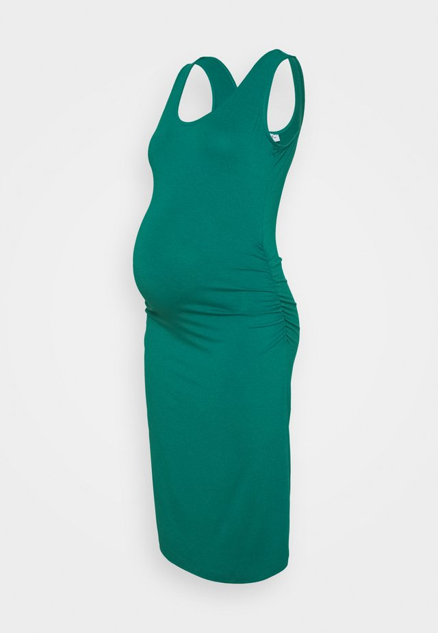KIZOMBA TANK - Robe fourreau - green