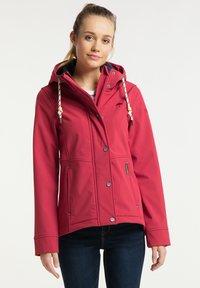 Schmuddelwedda - Soft shell jacket - rot - 0