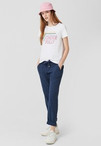 Q/S designed by - Trousers - navy - 1