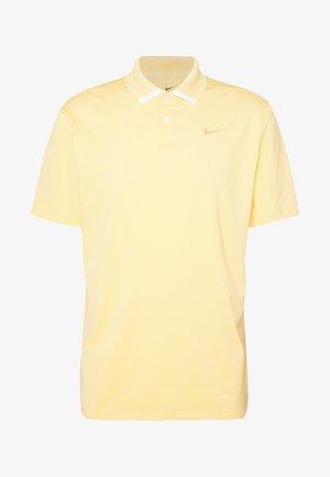VAPOR  - Polo shirt - celestial gold/white/celestial gold