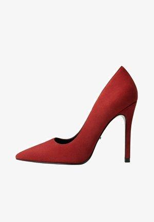 DOMA - Zapatos altos - burgundy
