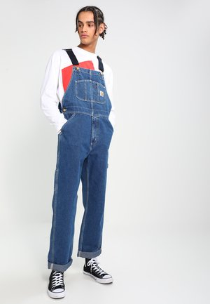 BIB OVERALL NORCO - Dungarees - blue stone washed