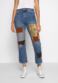 Free People - POPPY PATCH - Bootcut jeans - blue - 0