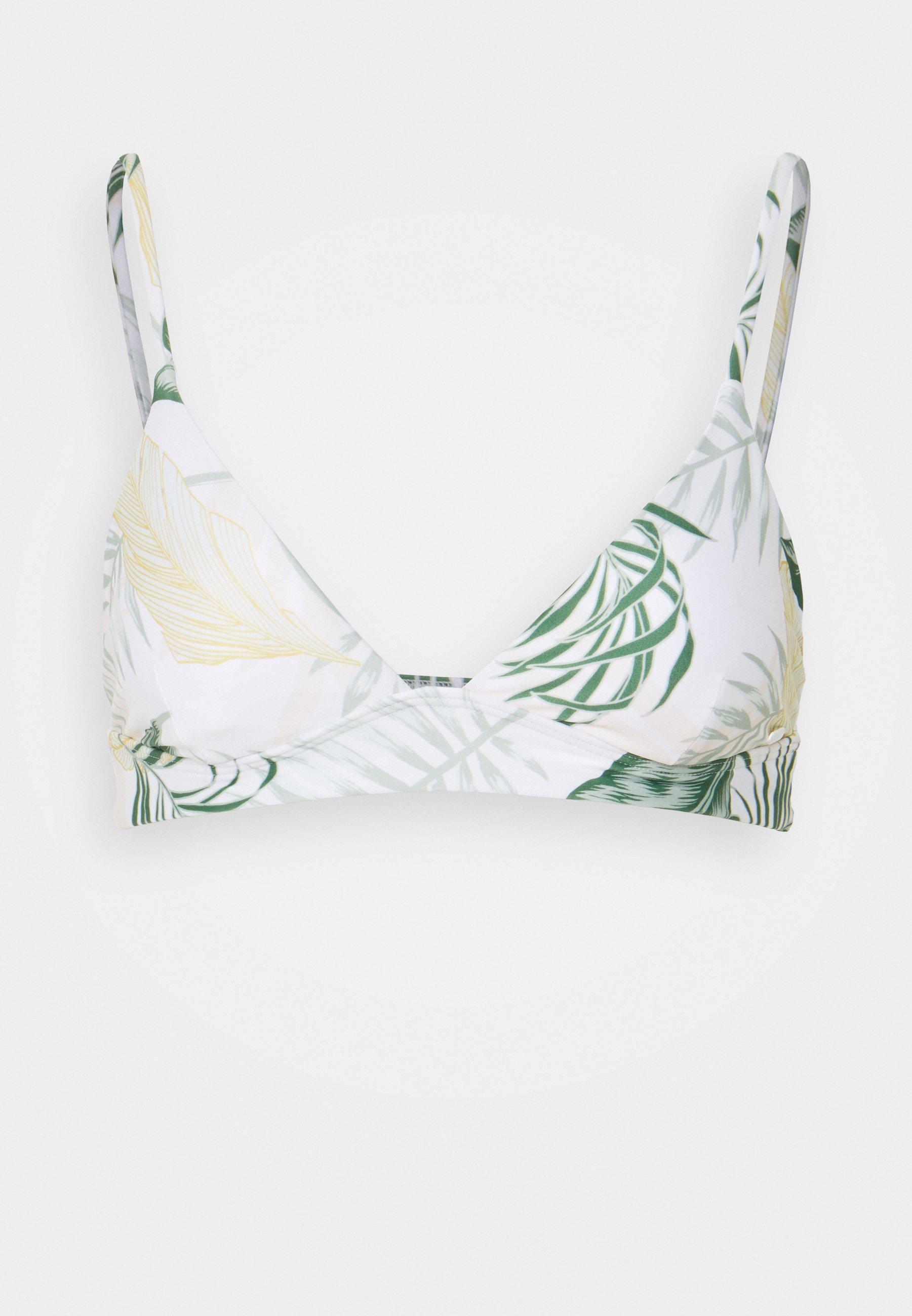 Women COASTAL PALMS LONGLINE - Bikini top