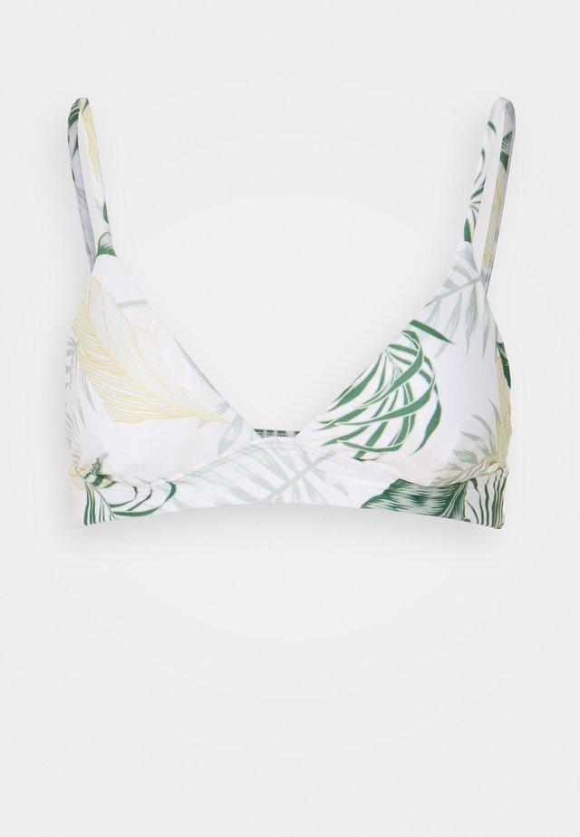 COASTAL PALMS LONGLINE - Bikinitop - white