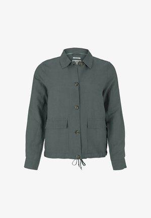 Summer jacket - washed jasper green