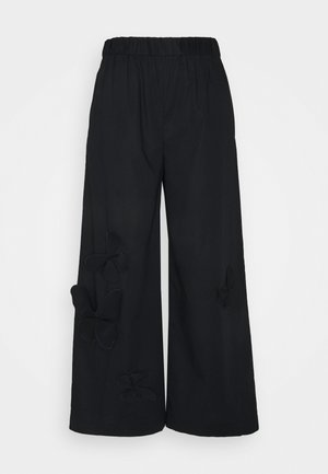 PANT - Stoffhose - black