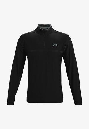 PLAYOFF 2.0 1/4 ZIP - T-shirt à manches longues - black