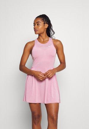 ADVANTAGE DRESS - Sukienka sportowa - elemental pink/white