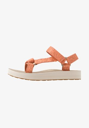 MIDFORM UNIVERSAL STAR WOMENS - Walking sandals - cantaloupe