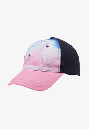 KIDS GIRL HORSE - Cap - navy/pink rose