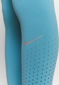 Nike Performance - EPIC LUXE - Tights - cerulean/reflective silver - 5