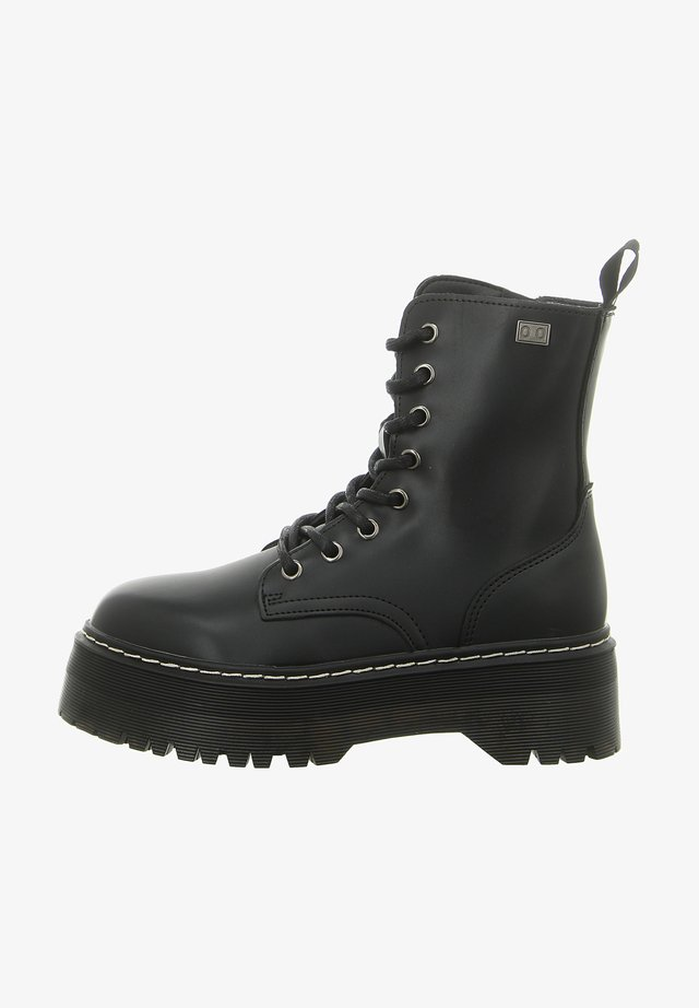 ABI - Platform ankle boots - black