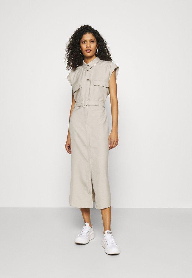 SHIRT DRESS - Blousejurk - beige